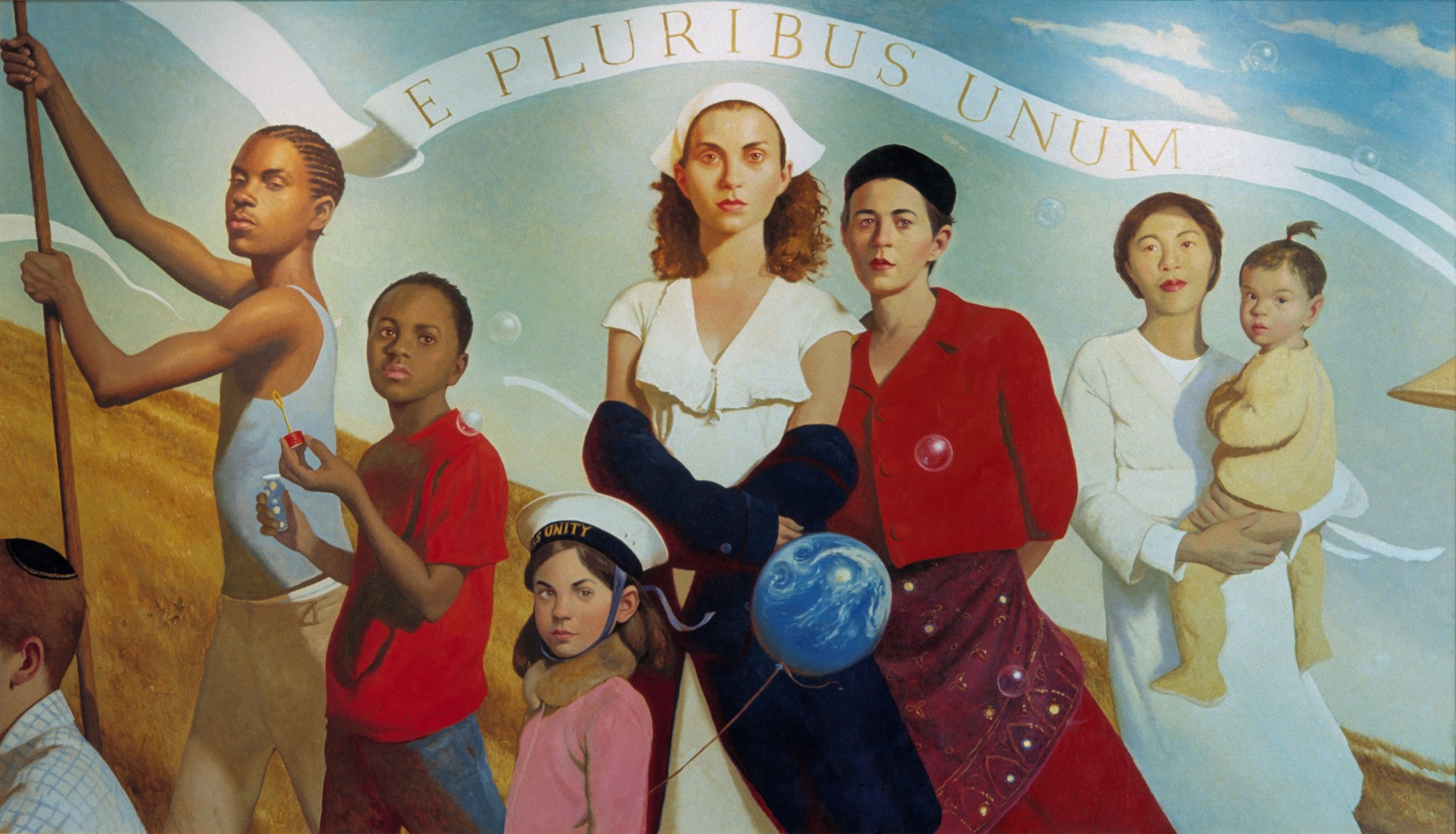 E Pluribus Unum (Out of Many, One), 2003